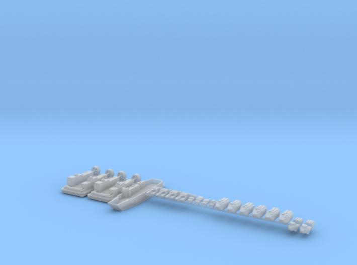 1/700 USMC Amphibious Assault Force 3d printed