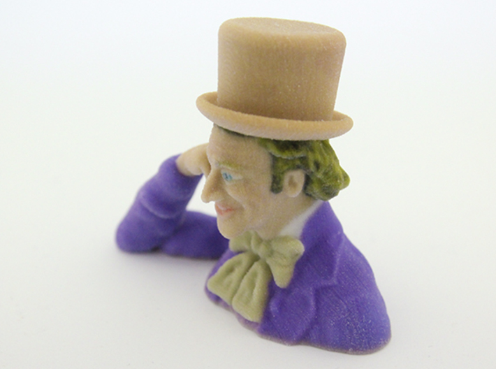 Creepy Condescending Willy Wonka 3d printed
