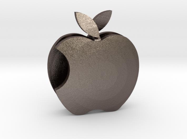 Apple pendant Love 3d printed