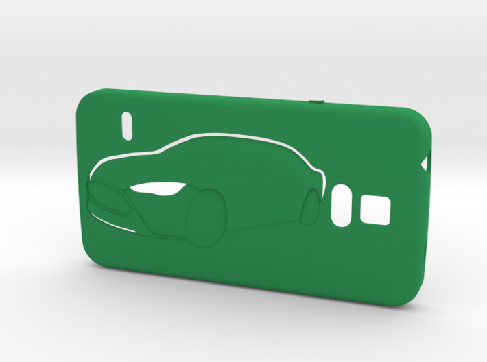 Galaxy S5 case (Tesla-touch) 3d printed