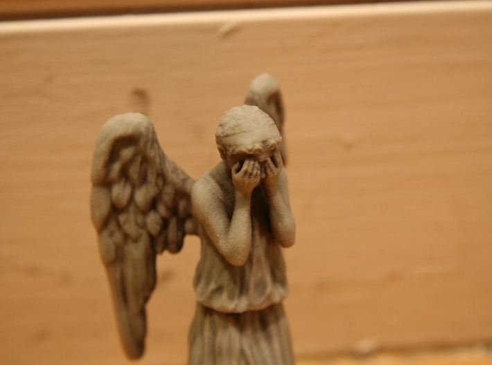 Some Call Me a Weeping Angel.. 3d printed Sniffles.