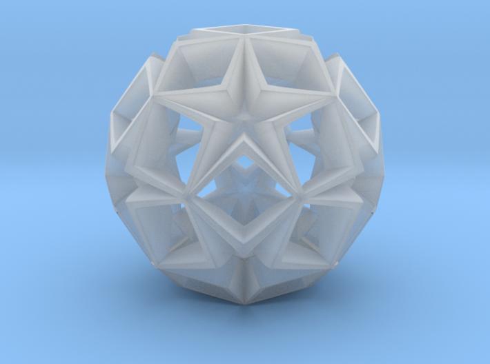 Fractal Stars 70mm 3d printed
