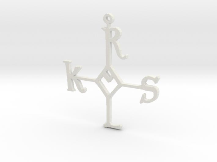 """Karolus ornament 4"""" 3d printed"""