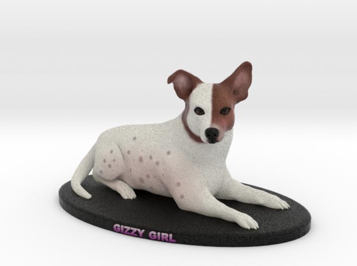 Custom Dog Figurine - Gizzy 3d printed