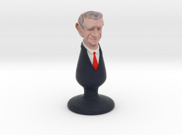George W Bush plug 3d printed