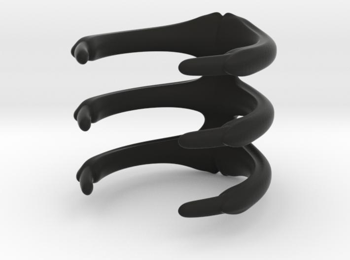Para_Ring_3 Ribs 3d printed