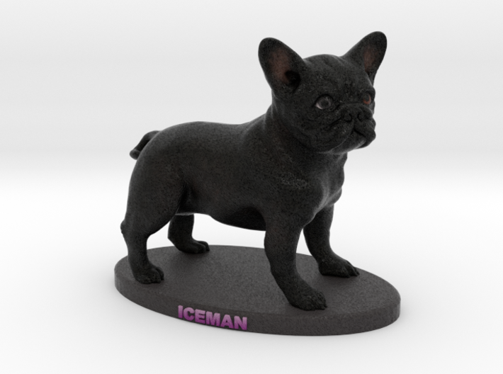 Custom Dog Figurine - Iceman 3d printed