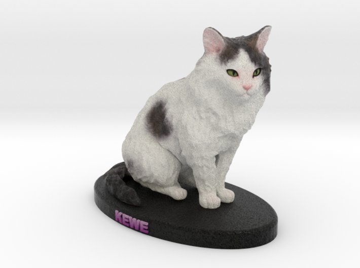 Custom Cat Figurine - Kewe 3d printed