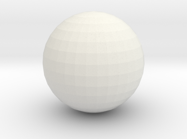 Ball - for bowling alley set 3d printed
