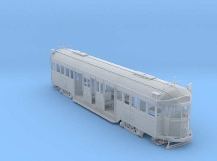 Melbourne W2 Class Tram OO 1:76 3d printed