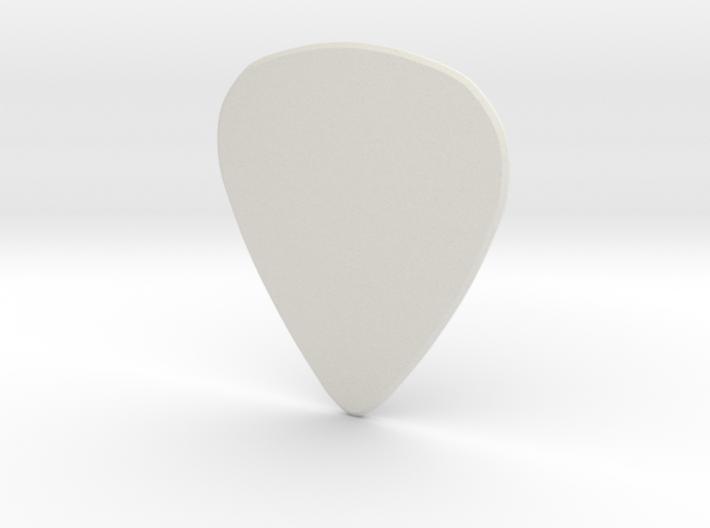 Guitarpick MEDIUM (0.88mm) 3d printed