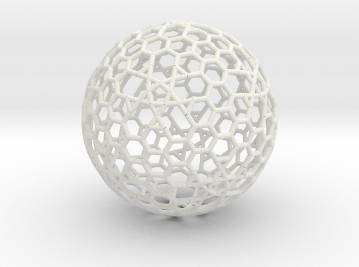 Cell Sphere 8 - Plato's Playball 3d printed