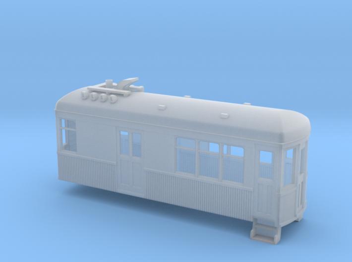 Sn2 Short wood gas-electric car 3d printed