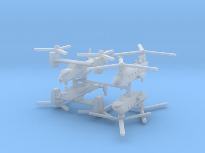 1/700 US Naval Aviation Kit 5 3d printed