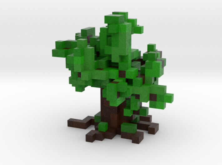 Voxel Tree 3d printed