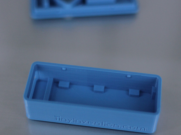 MinimOSD Enclosure w/ support for heat sinks 3d printed