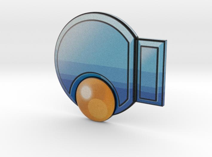 Knuckle Badge 3d printed