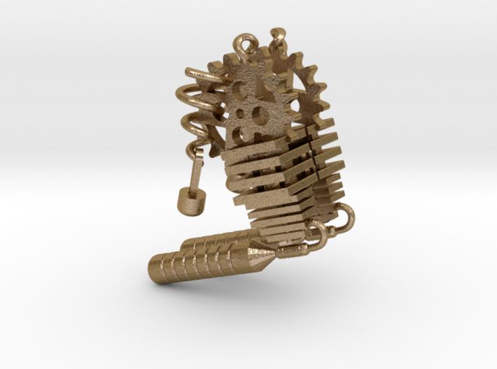 Steampunk Earring Set 3d printed