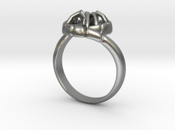 SPIDER Statement Designer Ring 3d printed