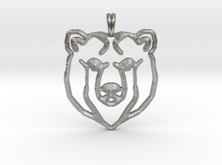 BEAR TOTEM Jewelry Designer Pendant 3d printed