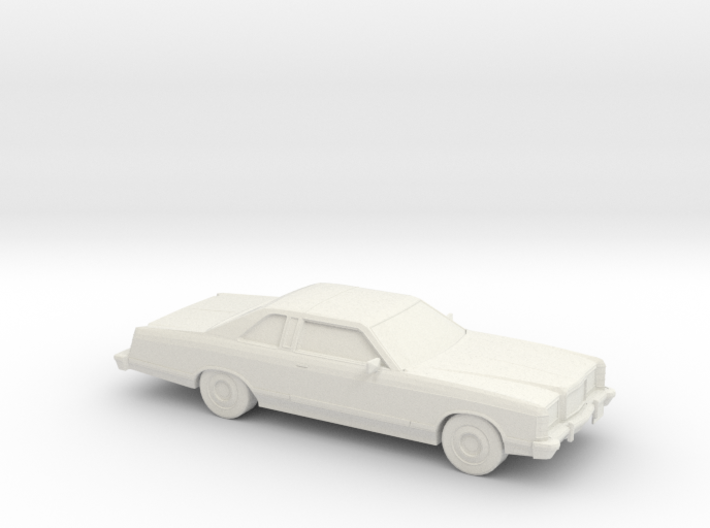 1/87 1975 Ford Ltd Coupe 3d printed