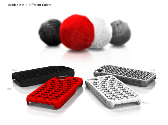 """iPhone 5 - """"Sweater"""" Case 3d printed"""