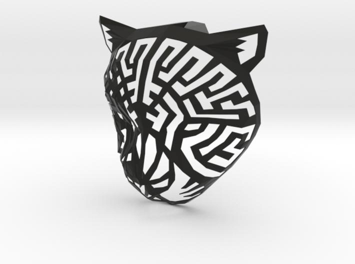 Cheetah Head (L) Faux Taxidermy 3d printed