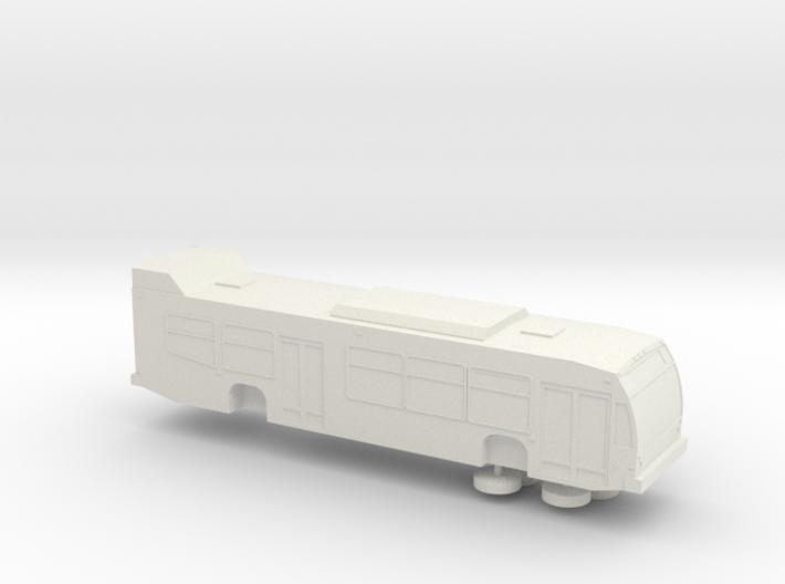 HO scale 2009-2013 Nova LFS bus (solid) 3d printed