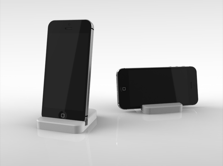 iPhone 5&5s Travelers Stand 3d printed