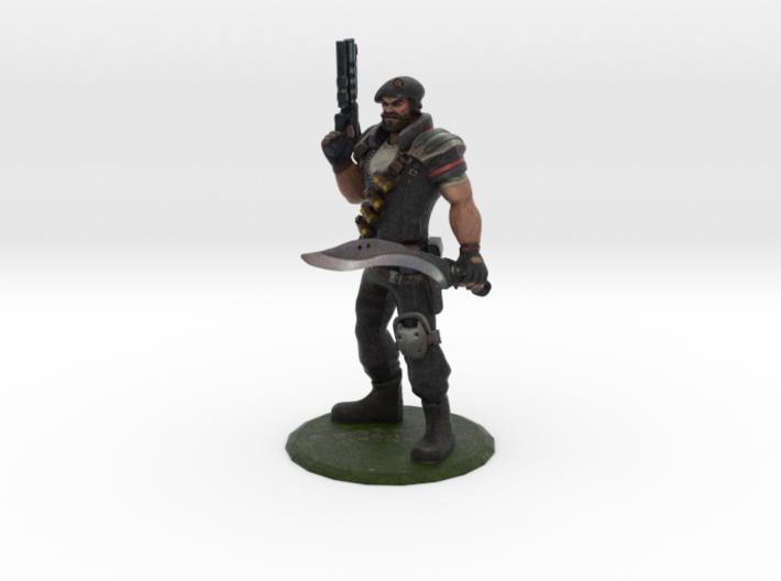 Special Forces Gangplank 3d printed