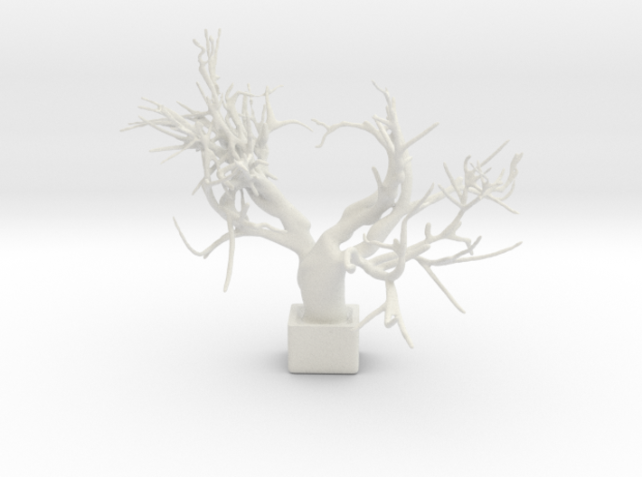 Heart Tree 3d printed