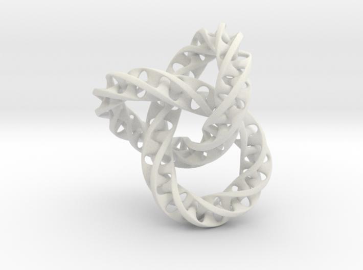 Fused Interlocked Mobius Infinity Knot 3d printed