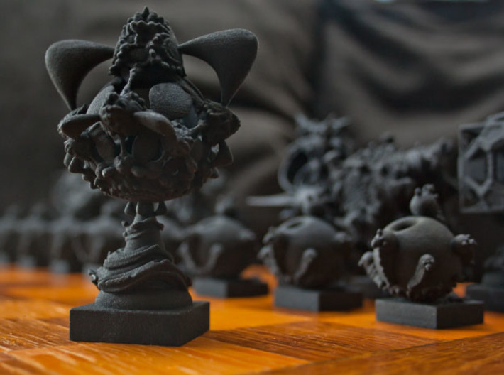 Surreal Chess Set - My Masterpieces - The Queen 3d printed