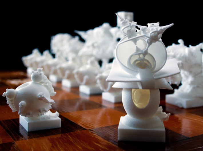 Surreal Chess Set - My Masterpieces -  Bishop II 3d printed