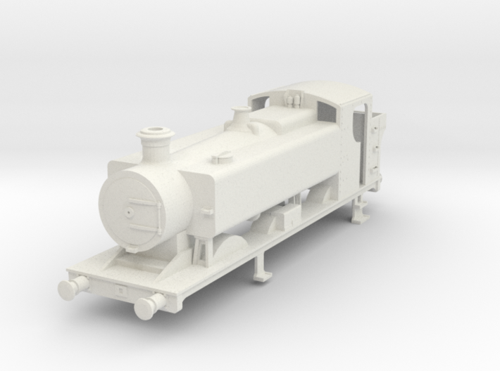 00 scale body for 94xx Pannier tank. 3d printed
