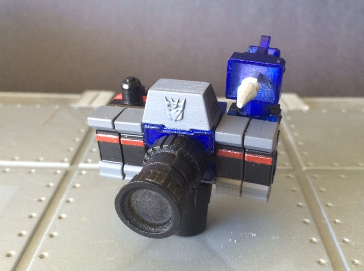 WORLD SMALLEST TRANSFORMERS REFLECTOR 3d printed Add a caption...