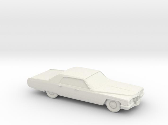 1/87 1972 Cadillac De Ville 3d printed