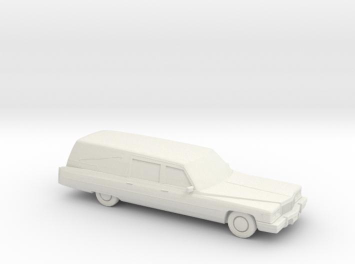 1975 Cadillac Hearse 3d printed