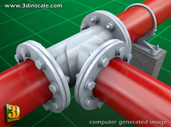 Pipeline accessory system Set 1 3d printed Add a caption...