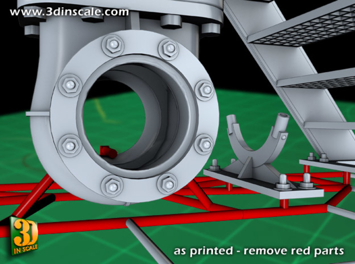 Pipeline accessory system Set 2 3d printed Add a caption...