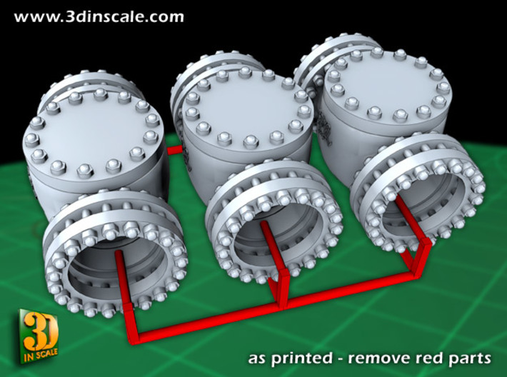 Pipeline Accessory System Valve3 3d printed Add a caption...