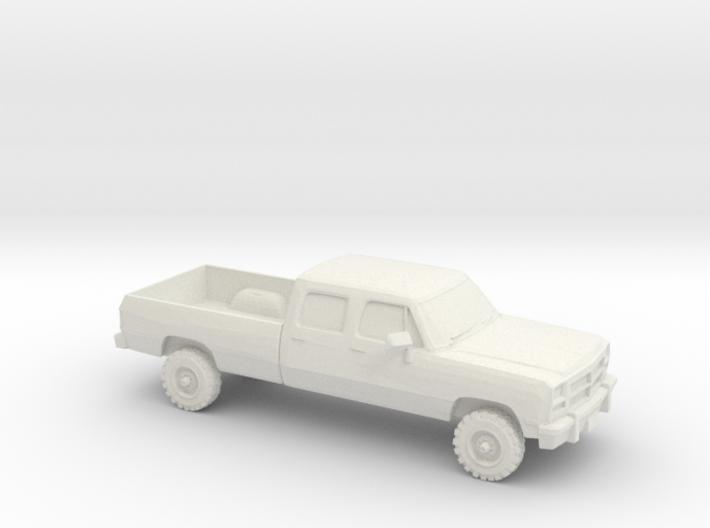 1/87 1993 Dodge Ram Crew Cab 3d printed