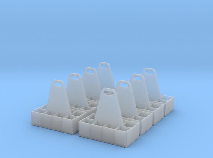 8ea Rack 1-24 SW-8 Bottles 3d printed