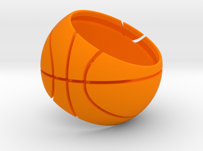 Basketball Ring 19 mm 3d printed