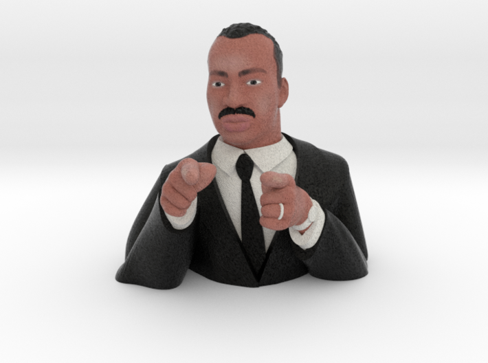 Martin Luther King Figurine  3d printed