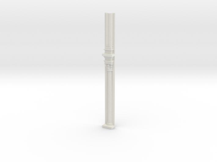 Miniature 1:48 Corinthian Pilaster 3d printed
