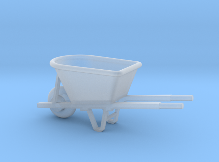 Miniature 1:48 Wheelbarrow 3d printed