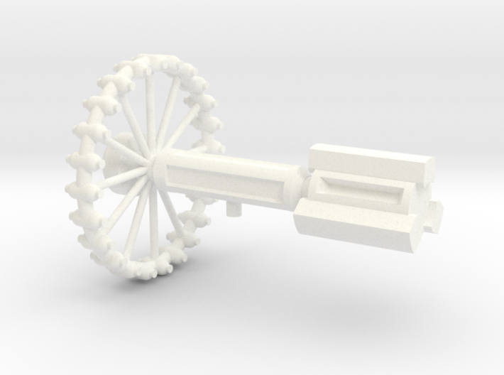 Normandie Class Station 3d printed