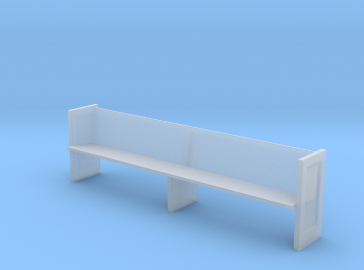 Miniature 1:48 Church Pew 3d printed