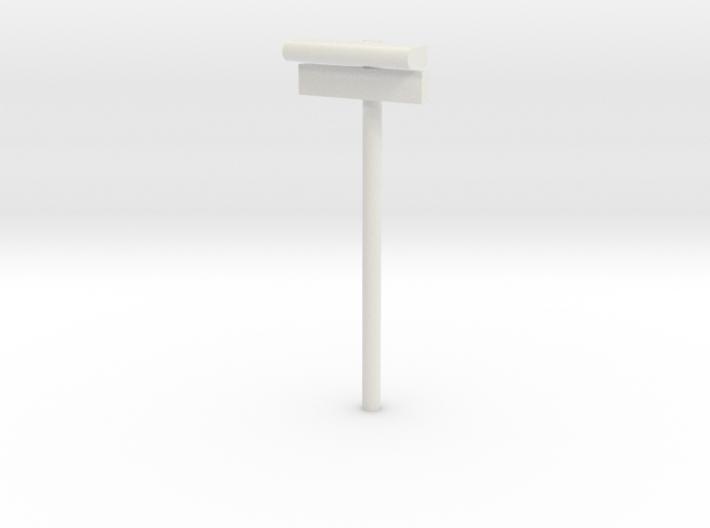 1/120 - DSB Stations lampe med stations skilt (VIA 3d printed